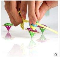 Wholesale Small pull foot pull teeth Magic Gyro Gyro Gyro metal plating cheap