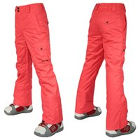 Wholesale womens ski pants ladies snowboarding pants outdoor pants waterproof breathable warm ski pants