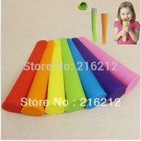 Cheap Silicone ice pop maker Push Up Ice Cream Jelly Lolly Pop For Popsicle Silicone ice pop mold mould