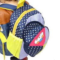 Wholesale Children schoolbag lowest price children zoo backpack cute kids cartoon animal school bag kindergarten satchels Hat pack bolsas