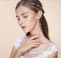 Wholesale Elegant Waterfresh Pearl Wedding Bracelets Handmade Twisted Imported None fading Wire Bangle Factory Sell Pearl Bridal Accessories