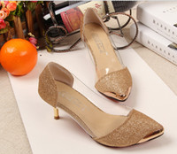 Cheap Shoes Women High Heels Kitten Heel Heels Pointed Toe  Pumps Heels Dress Casual Black Golden Silver Fashion Lady Shoes Cheap Wholesale