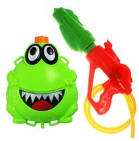 Wholesale New Arrival Extra large Frog bag water gun high pressure water gun toy water gun large adult water HT390