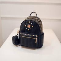 Wholesale 2015 Backpack Style Women Fashion Bags Bolsas Femininas Casual Purpose Bags Multifunction PU Leather Bags Female Personality School Bag