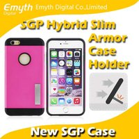 sgp stand - SGP Holder stand Hybrid Slim Armor Colors Case Cover Hard PC soft TPU without Retail Package for Apple iPhone plus inch