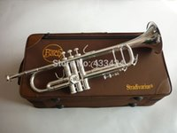 bach artisan - Taiwan Bach Original authentic Double silver plated AB190S Bb Artisan Collection trumpet Top musical instruments Brass bugle