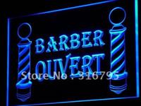 barber light - j176 b OUVERT Barber Poles OPEN Shop LED Neon Light Sign Wholeselling Dropshipper
