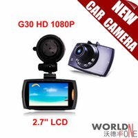 Wholesale Original G30 HD P inch LCD Car Camera Car DVR Novatek Vehicle Traveling Date Recorder Night Vision Tachograph
