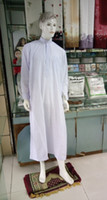 arab clothes - large in stock islamic clothing hot style abaya arab robe for man white robe China online HQ0046