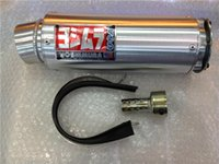Wholesale For Modified off road motorcycle exhaust pipes Jialing cabbage CB400 short exhaust pipe personality