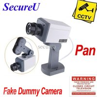 Wholesale cheapest emulational fake decoy dummy security surveillance CCTV outdoor use bullet waterproof camera system pan tilt rotate