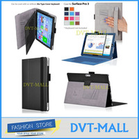 Wholesale Stand case For Microsoft Surface Pro inch cover case with handstrap wallet card holder