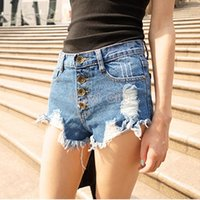 Cheap Distressed Jeans Shorts | Free Shipping Distressed Jeans