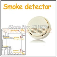 Wholesale Discount MHz High Sensitive Photoelectric Home Security System Cordless Wireless Smoke Detector Fire Alarm A5