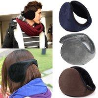 Wholesale 1 x New Unisex Men Women Soft Fleece Winter Warm Earmuffs Ear Warmers Colors