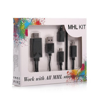 samsung tv - MHL To HDMI Adapter Kit Feet M Micro USB to HDMI Cable p HDTV Push from Smartphone to TV Multi Control