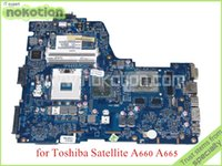 toshiba laptop - NWQAA LA P Rev MB K000104390 For toshiba satellite A660 A665 Laptop motherboard GeForce GT330M