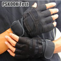 Wholesale Sports Gym Gloves Fitness Training Exercise Body Building Workout Gloves Breathable Weight Lifting Half Finger Glove