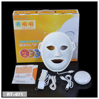 Wholesale 3 Colors LED red blue yellow light therapy beauty Mask PDT Mask LED skin rejuvenation skin Mask