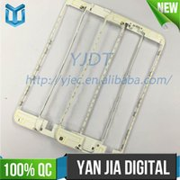 Wholesale 100pcs Middle Frame LCD Front Frame Bezel Housing for iPhone plus inch with M Adhesive