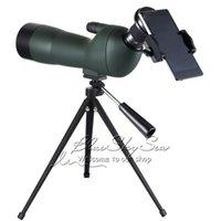 video zoom microscope - 20 X60AE GOMU Zoom HD Adjustable Monocular Telescope Spotting Scopes with Portable Tripod Telescopio for Hunting Bird watching
