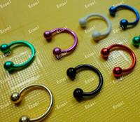 Wholesale Jewelry Bulk Pack Labret Lip Body Pierce Nipple Navel Belly Eyebrow Bar Rings LR337