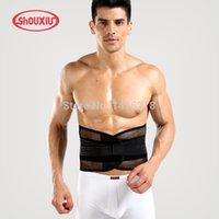 beams clothing - brand Breathable girdle shapers beam waist mens slimming body shaper Fat burning Corset bodysuit MMA Shapewear clothing
