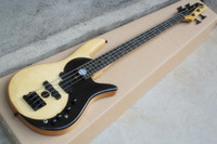 Wholesale The Customized String Butterfly Electric Bass with Flame Maple Veneer and Tai Ji Pattern and Can be Changed