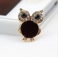 push button phone - new acrylic small owl diamond home key Mobile phone push button and retail stick