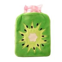 Wholesale Hot Water Bag Kiwi Small Hot Water Bottle Hot Water Bottle Stuffed Hand Warmer Winter brand new and high quality Smile