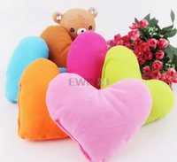 bathing pillow - Hearts Pet Dog Puppy Cute Neck Pillow Headrest Pad Toy Lovely Playing Pillow For Dog Cat Pet