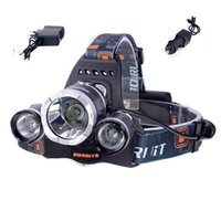 Wholesale HOT Lumen XCREE XM L T6 LED Headlamp Headlight Head Torch Lamp XCharger for Outdoor Camping