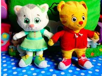 baby mobile accessories - Daniel Tiger Katerina Kittycat O the Owl plush toy doll Baby doll mobile phone s accessories
