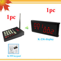 Wholesale KOQI restaurant order service wireless restaurant order kitchen wireless waiter queue call display system kitchen call system