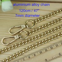 accessories for purses - 4 of Pale Gold Purse Chain mm Diameter cm quot long Handbag Accessory Metal Chain For Purse Key Chain