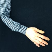 arm shirts - Ghastly Arm Scary Halloween Decoration Plaid Shirt Latex Hand Funny Party Gifts Horror Ghost Costume