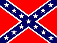 paper money - Confederate States Rebel Flag X FT CSA Battle Civil War Southern South Battle Dixie National Flags cm