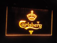 Wholesale jb Carlsberg Beer Bar Pub Displays LED Neon Light Signs