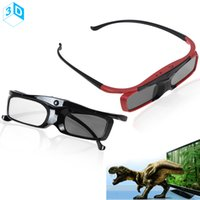 Wholesale SG16 BT Bluetooth RF Radio Frequency D Active Shutter Glasses for Samsung Sony Toshiba Sharp Panasonic Sanyo Television LIF_A06