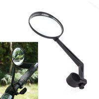 Wholesale New Sports Bicycle Bike Road Handlebar Glass Rear View Mirror Reflective Safety Convex Rearview Mirror Cycling Accessory