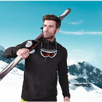 Wholesale Men Thermal Black Running Cycling Jacket Breathable Winter Sportswear Hiking Training Camping Soft shell Fleece S51