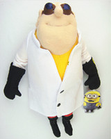 baby doll doctor - NEW Freeshipping Despicable me minions Gru doctor High Quality inch cm Plush Stuffed doll toys baby doll gift