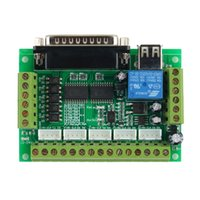 Cheap 5 Interface CNC Breakout Board For Stepper Motor Driver CNC Mill MACH3 Newest
