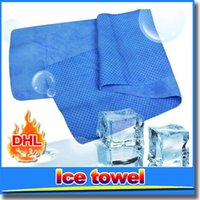Wholesale SIS Cold Towel Ice Towel Exercise Sweat Summer Sports Cool Towel Hypothermia multifunctional Cooling Towel for Children Adult