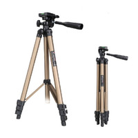 aluminum tripods - WEIFENG WT3130 Pro Digital Camera Tripod Portable Extendable Tripod Stand Adjustable For Canon Camera DLP Mini Projector High Quality