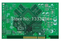 Wholesale pcb pcba manufactur high precision graphics prototyping board breadboard green color fast devliery time
