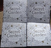 drawing book - 2015 Secret Garden An Inky Treasure Hunt and Coloring Book Adult Children Relax Graffiti Painting Book