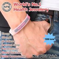 balance rubber bracelet - P033 Noproblem Balance magnetic energy rubber bands titanium tourmaline fashion health sport bracelet