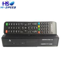 Receivers DVB-S2 DVB-T2/C Zgemma Star 10pcs Enigma2 linux os Combo decoder Zgemma Star H2 HD DVB-S2 DVB-T2 C Satellite TV Receiver no have boot problem free shipping
