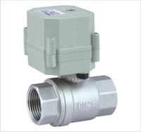 Wholesale DN25 Ways AC110 V mini motorized air control valve